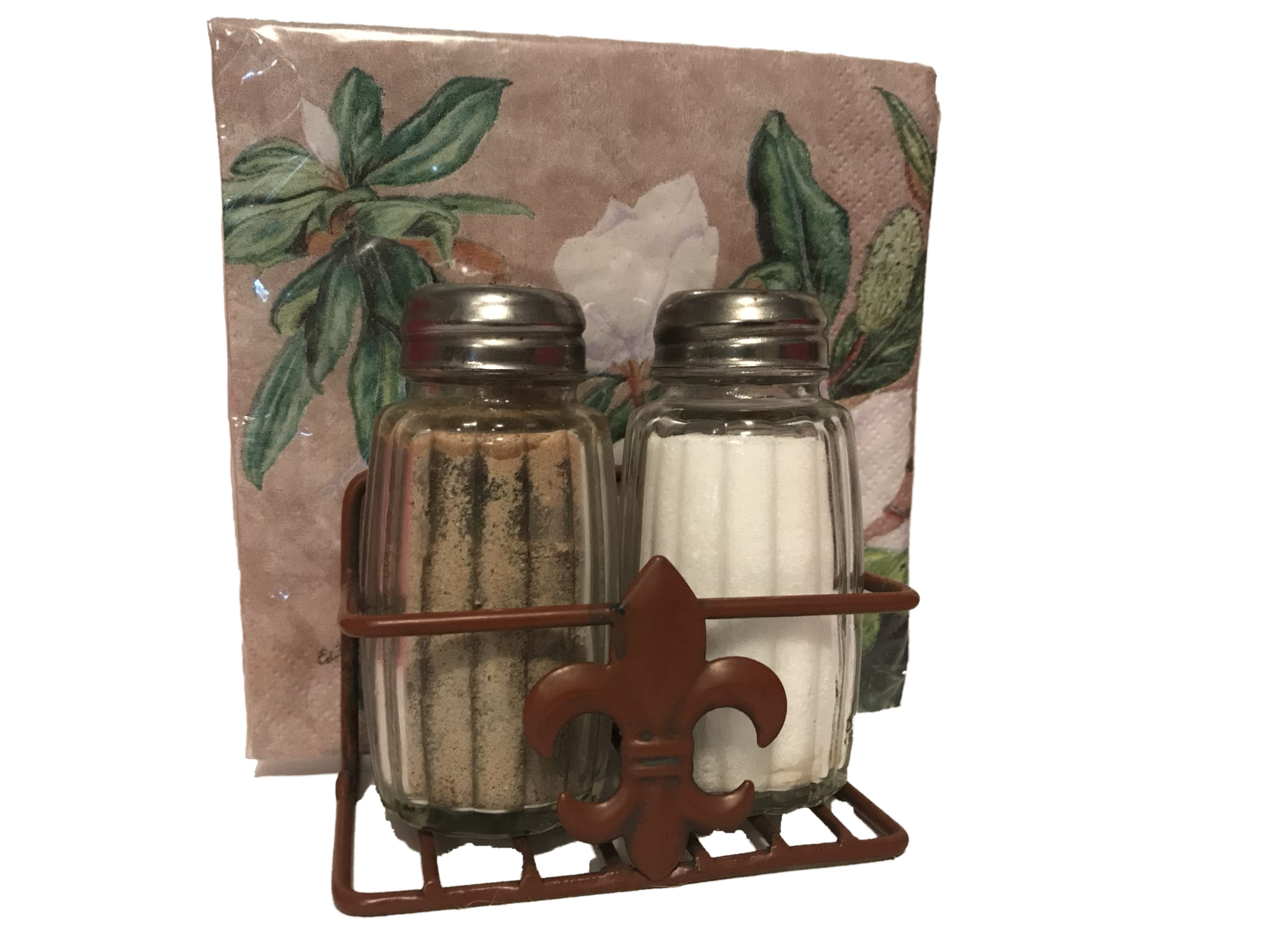 FLEUR DE LIS NAPKIN and Salt & Pepper – Louisiana Gifts ...